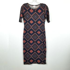 Lularoe Womens XS Julia Bodycon Dress